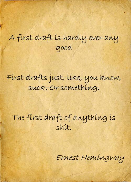 Hemingway heeft altijd gelijk